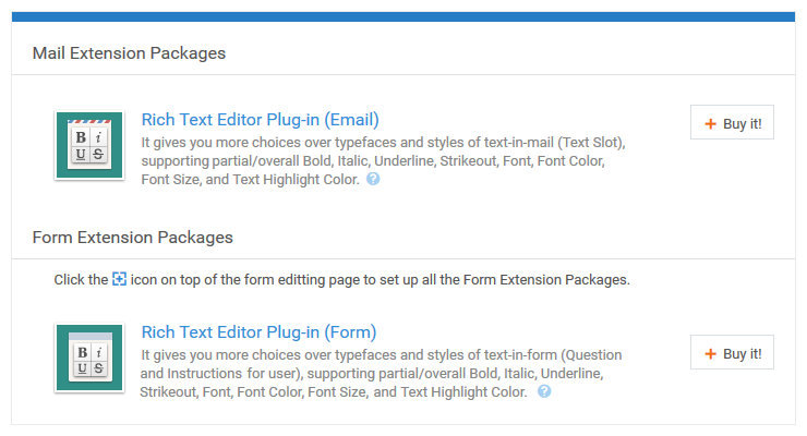 Form Extension Package | Rich Text Editor Plug-in | Pro Tips | 麦客